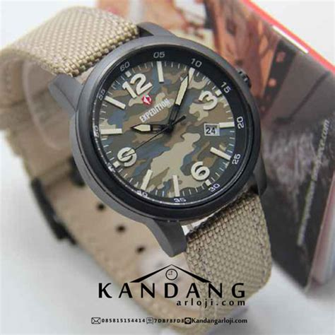 Expedition E6671 Army Original jam tangan expedition army e6671 loreng coklat murah