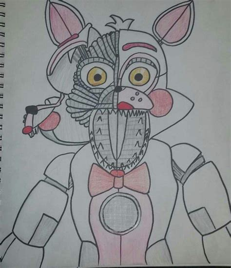 Drawings Of Funtime Foxy