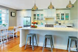 Kitchen Island Sydney hamptons style kitchens in sydney hampton style kitchen