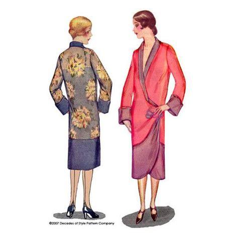 kimono apron pattern 2001 1920s tulip kimono vintage art and kimonos