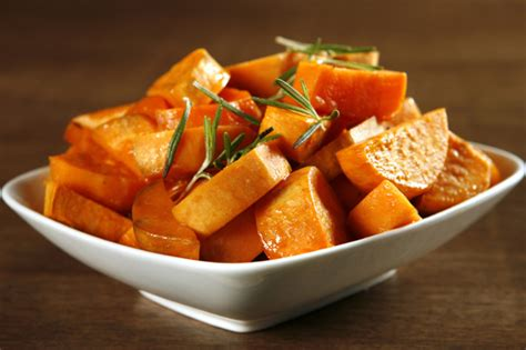 dish with sweet potatoes healthy thanksgiving side dishes