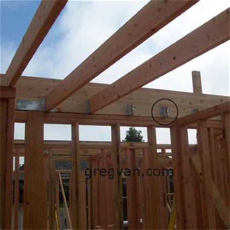 ceiling joist beam hangers