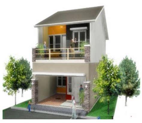 gambar desain rumah kecil minimalis  lantai