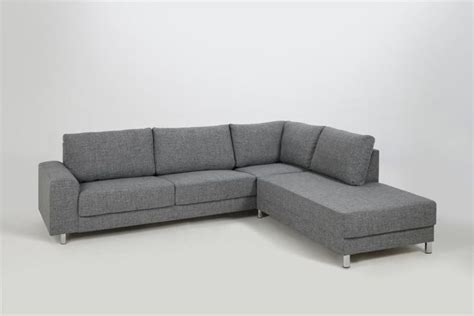 actona sofa sofa narożna calverton actona szary 262x221x80 cm w