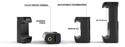 iphone tripod mount iphone 6 6 plus tripod mount shoulderpod