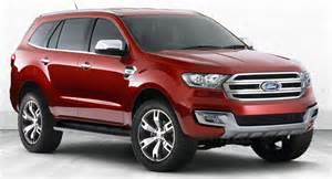 2015 Ford Suv Models Ford Shows Ranger Based Everest Suv Concept In Australia