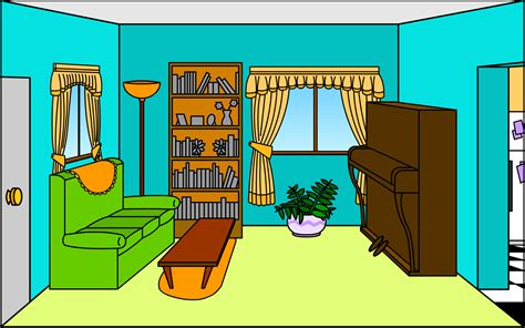 livingroom cartoon living room by shmuggly on deviantart