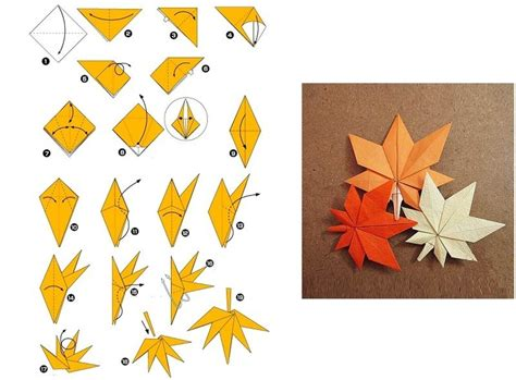 Origami Leaf - origami leaves stuff to try big kid