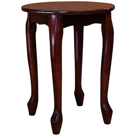 small round accent table bristlin cherry small round accent table 6h442 ls plus