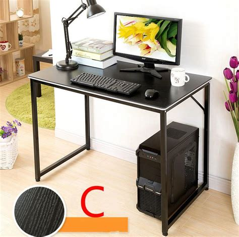 desktop computer and desk simple desktop computer desk household desk 120 60cm