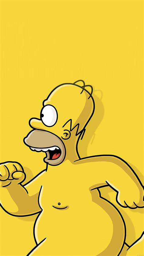 wallpaper iphone 5 simpsons simpsons homer wallpaper for iphone x 8 7 6 free
