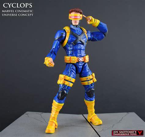 Costum Cyclops 2 mcu style cyclops custom marvel legends figure by jin saotome on deviantart