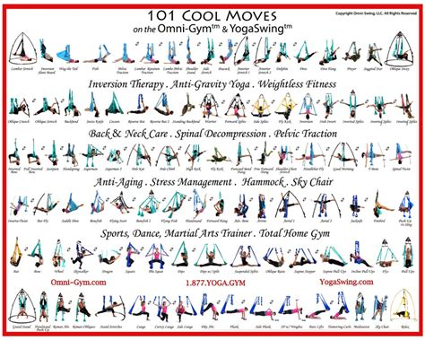 yoga swing exercises 101 positions poster 1000 images about yoga and teaching