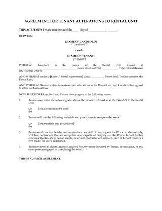 saskatchewan rental agreement template saskatchewan residential lease and tenancy forms