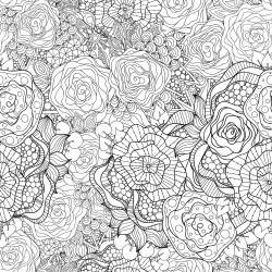 free printable coloring pages for adults advanced flowers advanced coloring pages 12 kidspressmagazine
