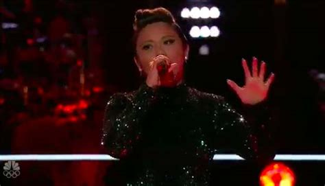 i hope you dance the voice performance pinay singer kathrina feigh eliminated from the voice 2017