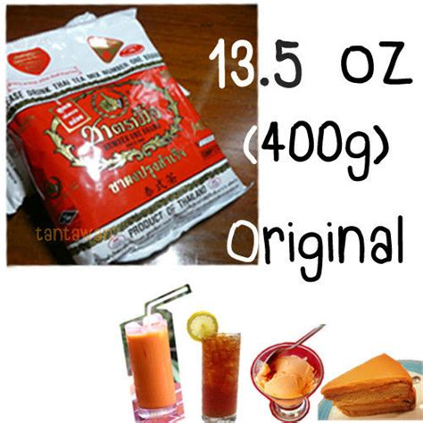 Milk Thai Tea Original Teh Thailand Asli Thaitea original thai iced milk tea ceylon powder number one brand ebay