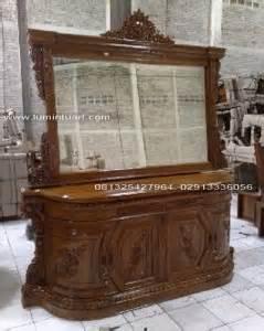 Cermin Goyang Jati Furniture Sofa Nakas Rak Bufet Lemari meja rias tolet bufet kaca cermin ukiran kayu jati jepara ud lumintu gallery furniture