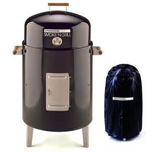 brinkmann smoke n charcoal grill smoker at hayneedle