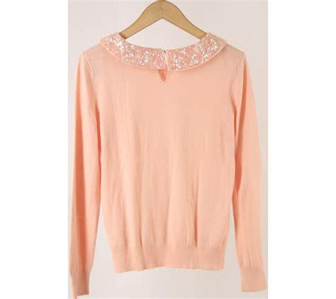Kacamata Hm h m pink sequins blouse