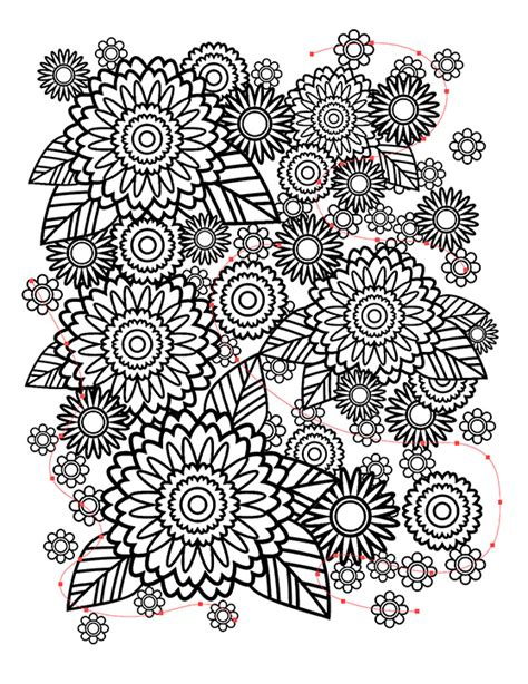 make coloring book pages in photoshop how to create a stress relief coloring book page in adobe
