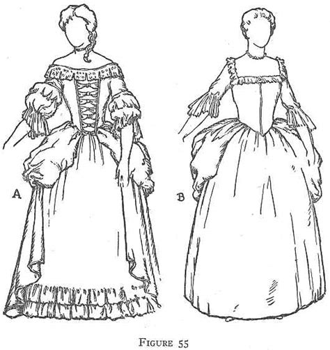 colonial girl coloring page medieval times clothing coloring pages ii costume of