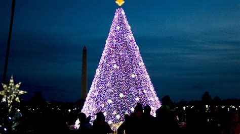 tree lighting closures road closures for 95th annual capitol tree