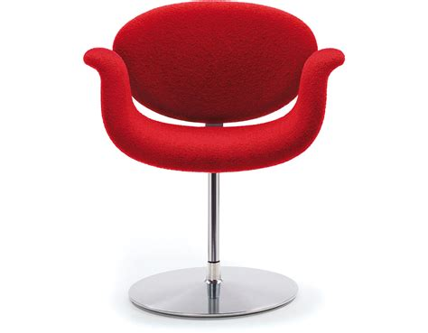 tulip chair little tulip chair with disc base hivemodern com