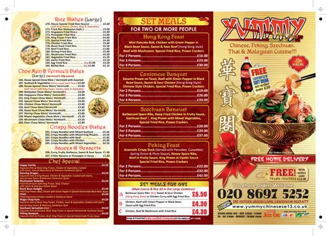 Leaflet Design For Restaurant | restaurant leaflets fudy takeaway leaflets