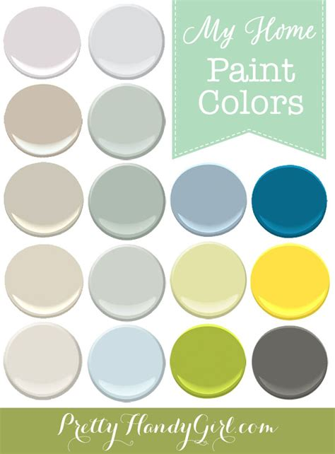 Paint Colors In My Home Pretty Handy Girl | paint colors in my home pretty handy girl