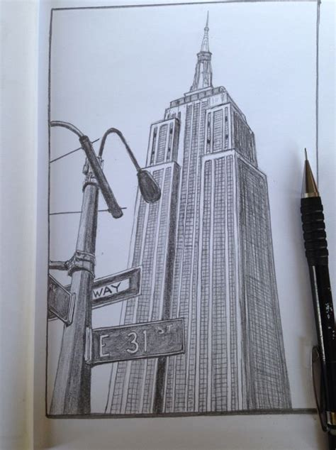 Sketches New York by York New York And Drawings On