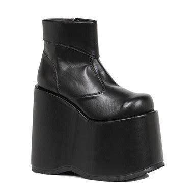 mens black platform boots mens frank platform ankle boots black