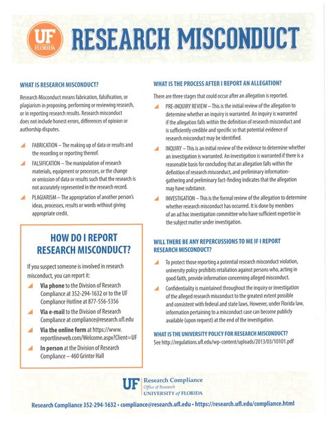 Research Misconduct Letter Uf Pre Dental Program Bittorrentword
