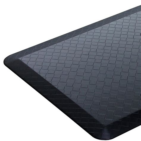 Modern Kitchen Mat by 20x30 Black Modern Indoor Cushion Kitchen Rug Anti Fatigue Floor Mat Ebay