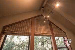 Central Valley Blinds Motorized Roman Shades Soundvision San Francisco