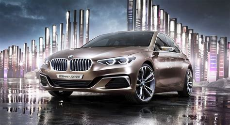 Bmw 1 Series Base Price by 2015 Bmw Concept Compact Sedan Teases Upcoming 135i 25k