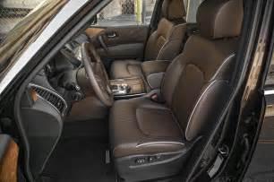 Infiniti Qx80 Interior 2015 Infiniti Qx80 Front Interior Seats Photo 7