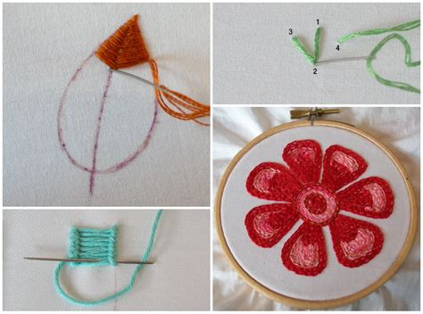 Handmade Embroidery - embroidery stitches designs www imgkid the