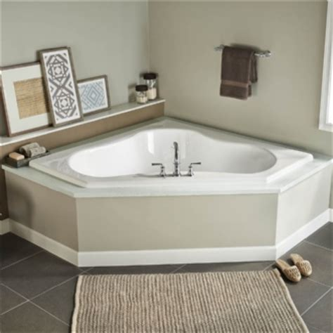 eljer bathtubs eljer gemini 60 inch by 60 inch corner soaking tub