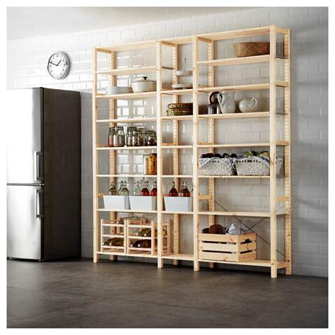 scaffale ivar ikea ivar 3 sections shelves pine 219x30x226 cm ikea