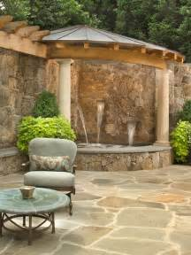backyard patio ideas with tub landscaping - Patio Tub