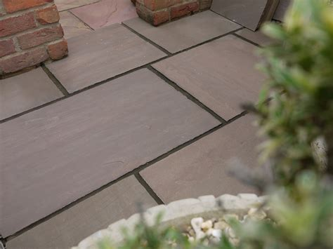 Rustic Patios Pictures Autumn Brown Prices Paving