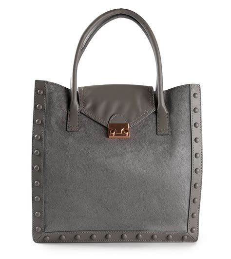 Loeffler Randall Calfskin Tote by Want It Wednesday Calf Hair Everything Page 8 Of 9