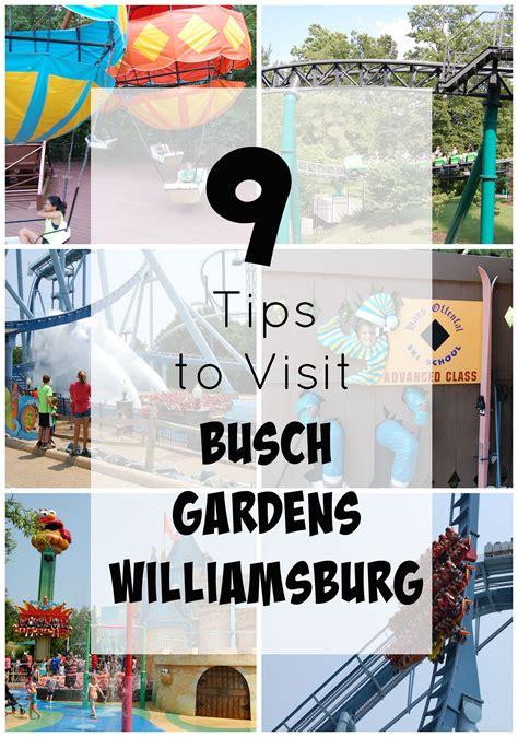 Busch Garden Williamsburg Tickets by 9 Tips To Visit Busch Gardens Williamsburg Va Ticket