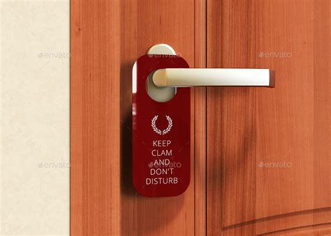 door hanger door hanger mock up by ayashi graphicriver
