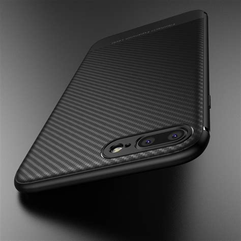 Softcase Luxury Carbon Fiber Soft Cover Casing Iphone 7 7s Plus luxury for iphone 6 s 6s plus iphone 8 plus 7plus 8plus carbon fiber soft couque cover for