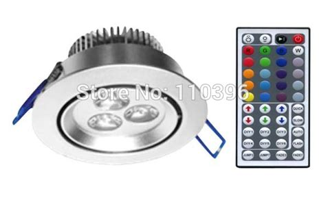 Lu Led Alis Mobil bridgelux led chip 3w rgb 44 key ir remote light