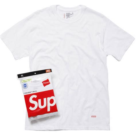 Tees Supreme Premium Quality With Tag supreme quot nyc hanes quot t shirt white