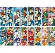 Inazuma Eleven Go  Chara Pos Collection 3 8pcs ANIME