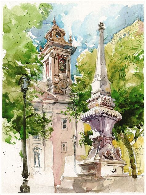 libro urban watercolor sketching a 25 best ideas about watercolor sketch on watercolor watercolor city and